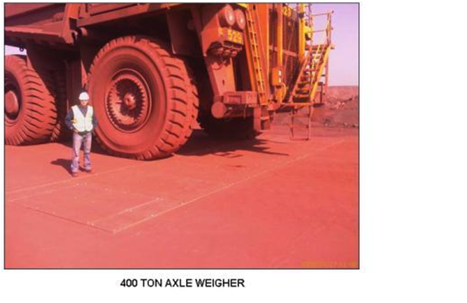 400 ton axle weigher